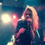 Alison Mosshart von The Kills live im Schwuz