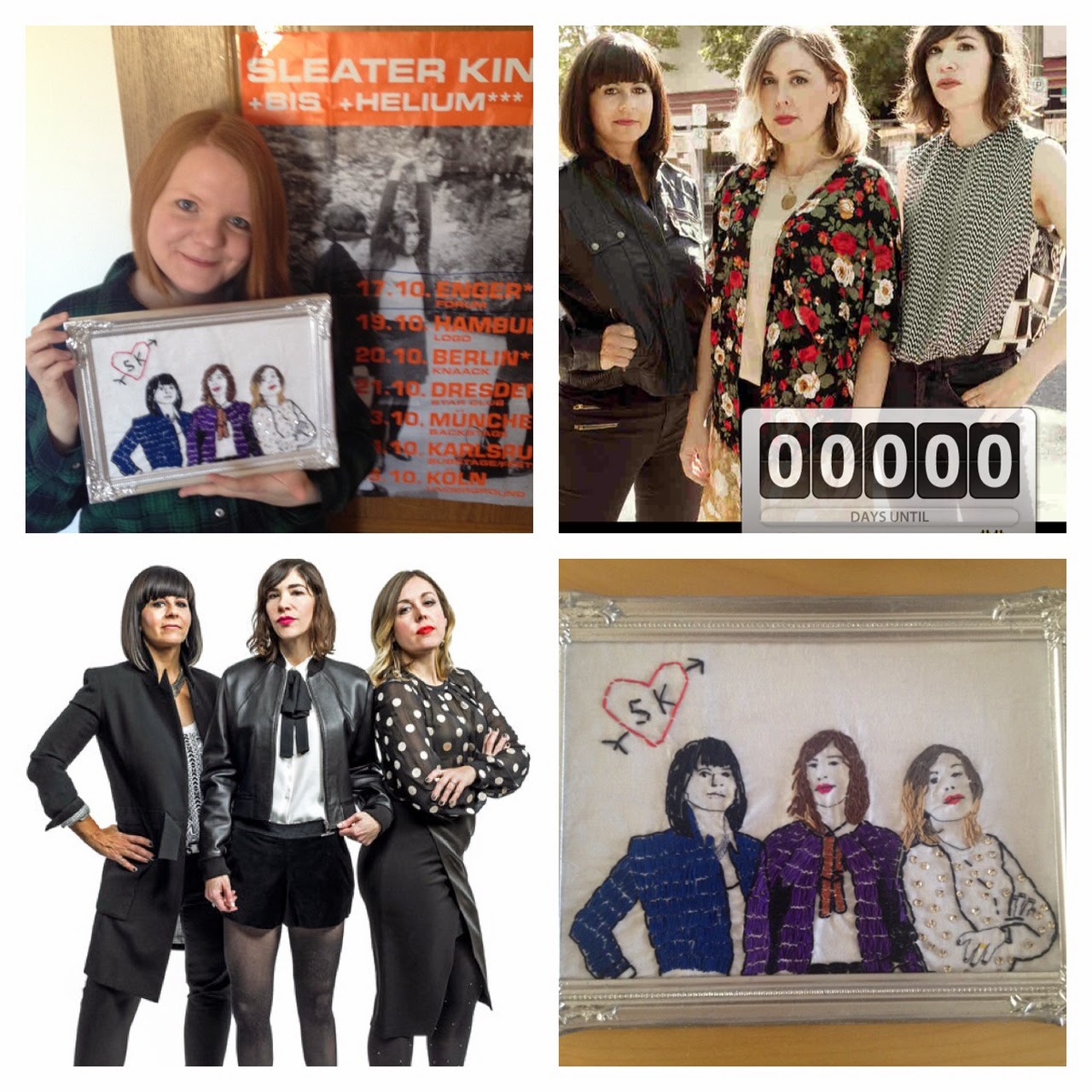 Sleater-Kinney-Collage
