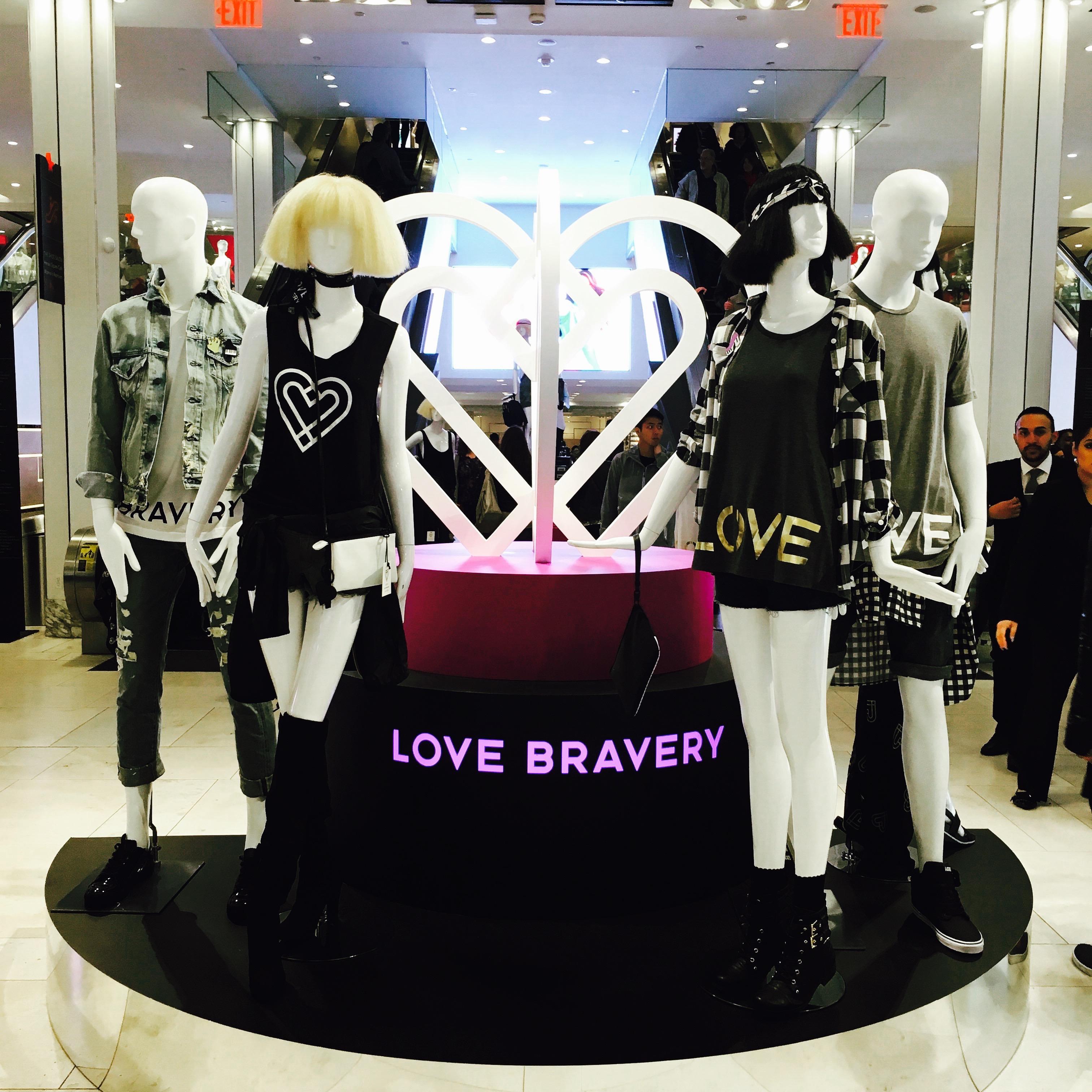 Love Bravery Macys - 1