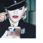 Madonna doing Instagram