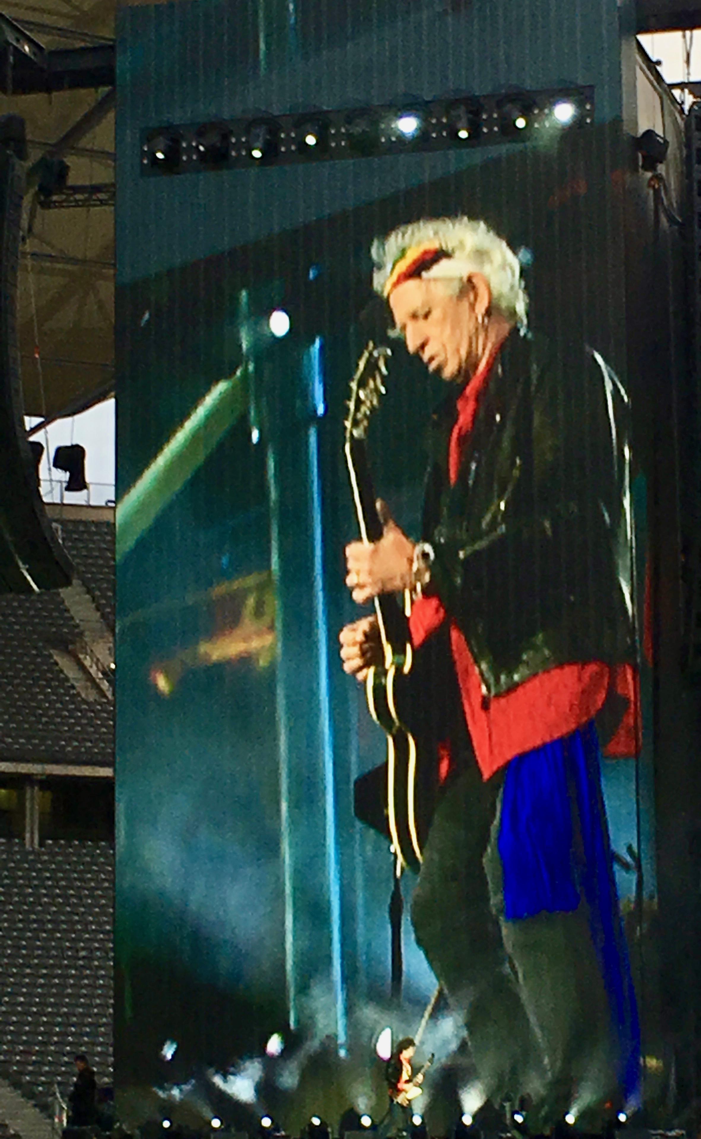 Keith Richards und Ronnie Wood beim Konzert in Berlin 2018