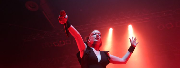 Shirley Manson live in Berlin 2018.