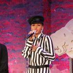 Janelle Monae spricht im Rahmen der Red Bull Music Week in Berlin