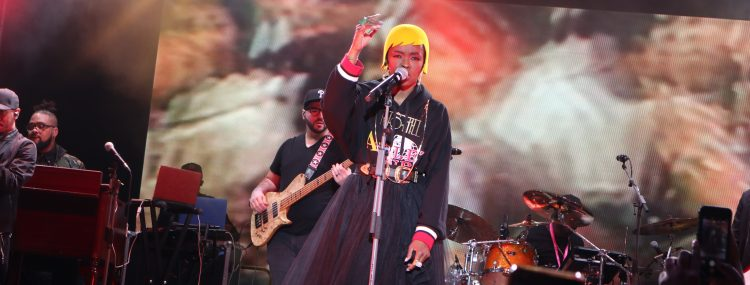 Lauryn Hill live bei der Bread and Butter 2018