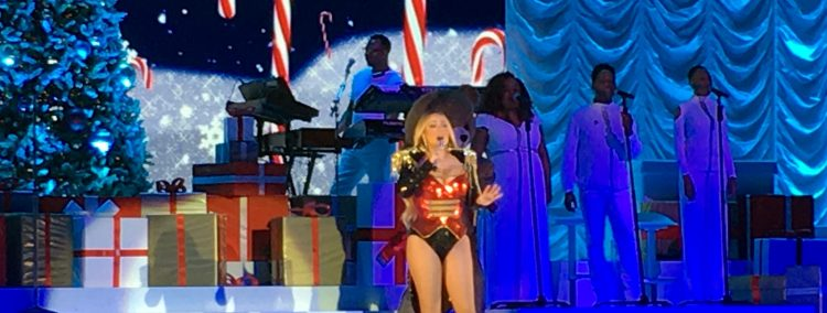 Mariah Carey am 5.12.2018 live in Berlin