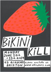 Bikini Kill treten in London auf @ O2 Academy Brixton