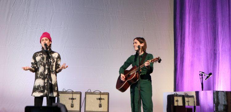 Tegan and Sara live at Brighton Royal Theatre