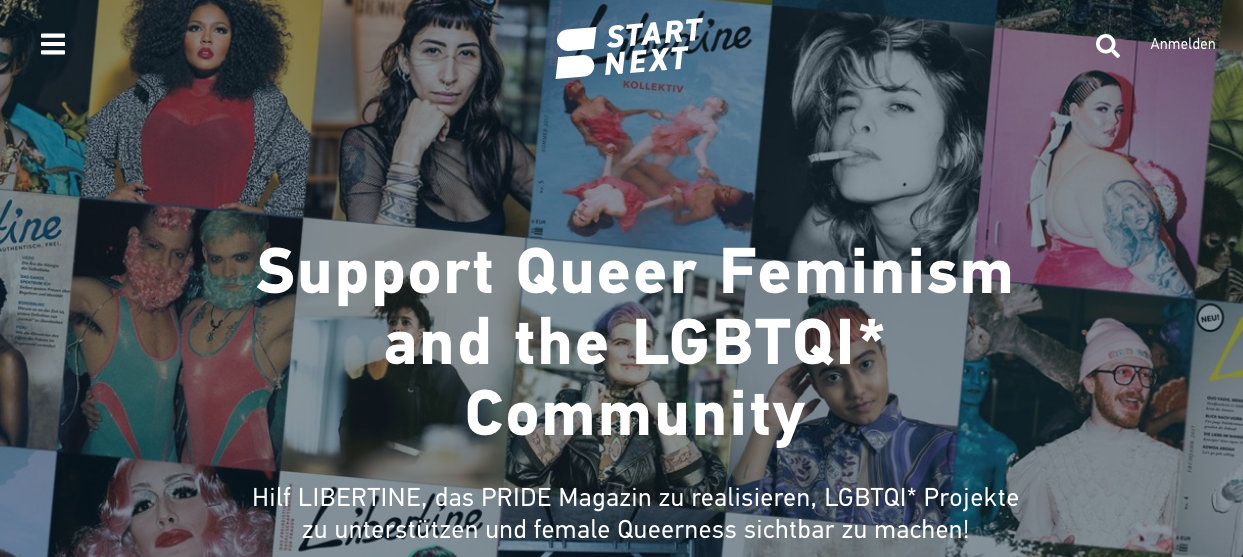 Libertine Pride Kampagne